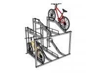 Велопарковки двоповерхові
